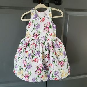 Janie and Jack party dress: white floral